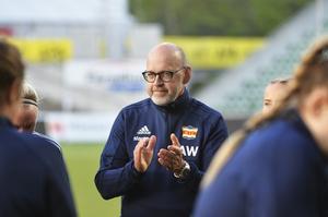 Kovlandstränaren Anders Westlund.