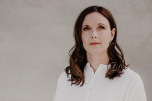 Anna Maria Romlid (V), oppositionsråd i Västerås. Foto: Linda Eliasson