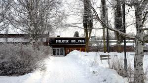 I Söråker finns det ett bibliotek.