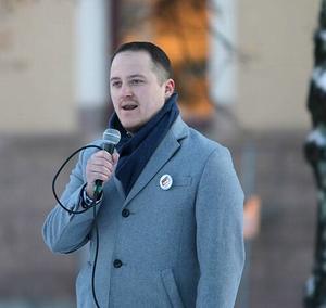 Daniel Lindkvist, ordförande RBU Dalarna.