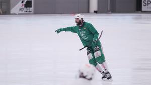 Magnus Joneby har testats som back.