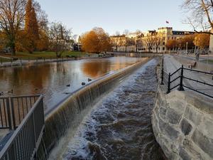 Överraskande fint efter bygget av fisktrappan skriver  Nils Albinsson.