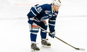 Emil Forsberg ser fram emot playoff. Med största sannolikhet väntar Vännäs från norra Hockeyettan vår.