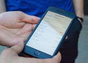 Wolts matleverantörer lägger själva upp sina arbetspass i mobilappen.