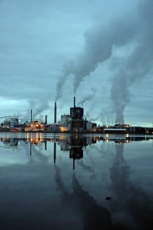 STORA ENSO. Vindkraftsparken ska leverera cirka 30 000 megawattimmar per år till Skutskärsfabriken.