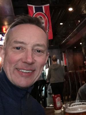 Magnus Persson är ordförande för Svegs IK Hockey.  Foto: Privat