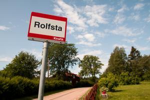 Rolfsta är en av de busshållplatser som kommer att dras in.