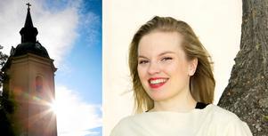 Foto: Måna J Roos/Margaretha Levin Blekastad Stephanie Lippert ger konsert i Norrtälje kyrka den 30 november.