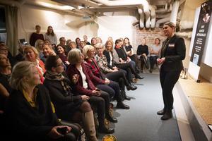 Ett 40-tal personer kom på föreningens första möte.