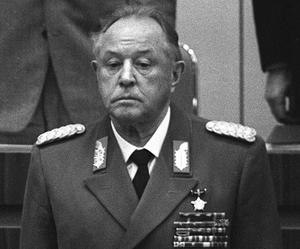 Östtysklands mest fruktade man, Erich Mielke, Stasichef i 32 år.