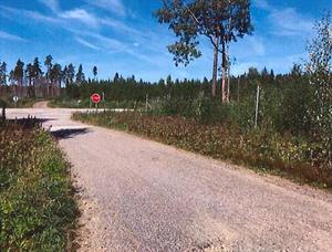 På en skogsväg i närheten av Laxå stannade fångtransporten – då rymde Kristoffers Kastellanoss.