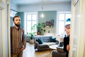 Efter fyra år i Oslo styrde trädgårdsmästaren Gustav Qvist och floristen Lina Nilsson flyttlasset mot Sundsvall där de nu driver Inne & Ute blommor.