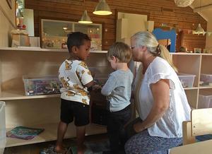 Den nya förskolan i Stuggu, Gagnefs kyrkby, öppnade i augusti i år