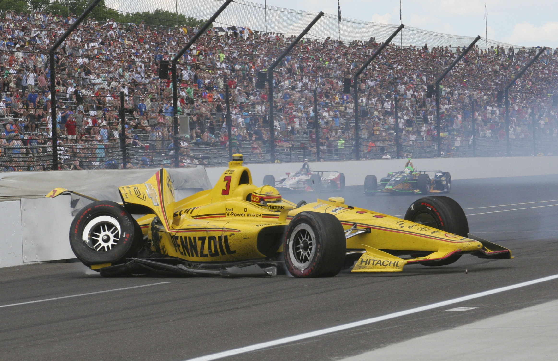Castroneves tog sin tredje indy 500