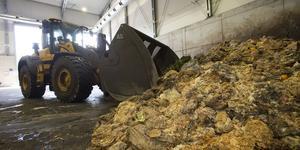 Matavfall från Härnösand säkrar produktionen av ekogas i Gävle.