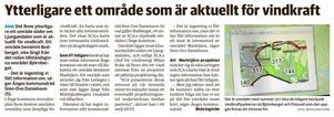Efter ST:s artikel om att det finns ett  vindkraftsintresse för Bodberget så har SCA uppdaterat kommunen om att intresset mojnat och att området