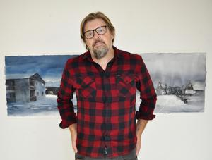 Efter 20 års uppehåll blev Magnus Petersson konstnär igen.