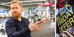 Marcus Nilsson, butikschef på Elgiganten. Foto: Kenneth Hudd