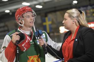 Emil Bejmo och Jennifer Engström.