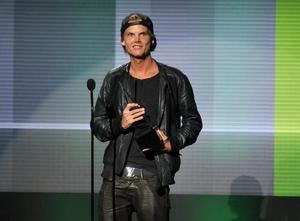 Avicii fick pris på American Music Awards 2013.