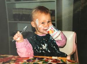 Så här firar man – om man är en liten Sara McManus.