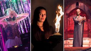 DJ Livsfarligt, Eldfågel och Gulaza är tre av akterna som nu ansluter till Urkults spelschema. Foto: Pressbild