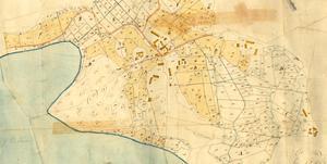 Gården Eriksro, finns med på laga skifte-kartan från 1837 och är en av Juni bys äldsta gårdar. Johanna tror att