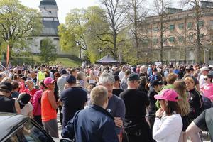 Bissen brainwalk genomfördes tidigare i år i Köping, många deltog.