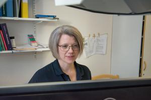 Elin Westin, distriktsläkare på Backe hälsocentral.