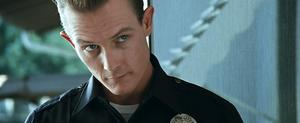 Robert Patrick skrev in sin sig själv i rollen som den iskalla T-1000 i