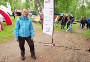 Alexandra Lundin går utbildningen Turism och friluftsliv på Klarälvsdalens folkhögskola och jobbar som funktionär under festivalen.
