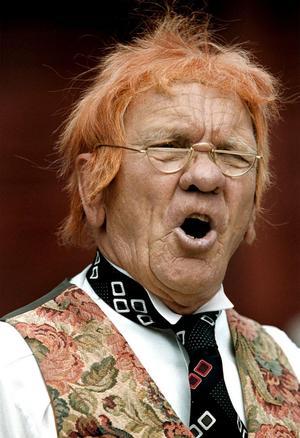 Björn Sundberg i sin mest kända roll, som herr Markurell i Wadköping.Arkivfoto: Lennart Lundkvist