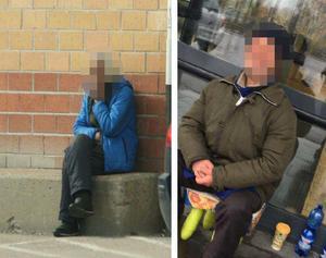 Under operation Lodjur spanade polisen mot de två tiggarna som senare vittnade mot sina huvudmän under rättegången i Hudiksvall. Bild: Polisens förundersökning