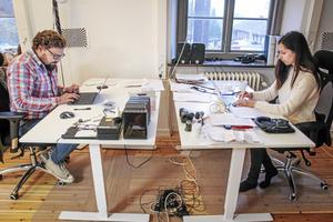 Vygantas Kirejevas och Gajane Kalatshjan är gifta och jobbar i Åre med firman Zero Parallax, en uppfinning med ett nytt objektiv för extrem vidvinkel.