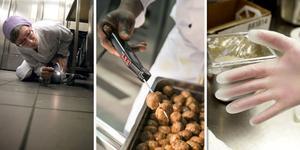 Städning, temperatur och hygien är tre viktiga faktorer för att maten som serveras ska vara säker. Det är också tre områden där det ofta finns brister.
