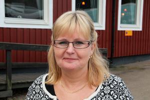 Postnords distributionsområdeschef Katarina Sörman berättade om förändringarna under torsdagens företagsfrukost.