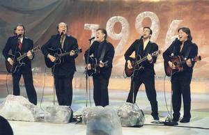 Peter Lundblad deltog i Melodifestivalen 1996 tillsammans med Lasse Kronér, Nick Borgen, Janne Bark och Lennart Grahn med låten
