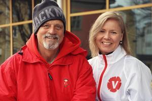 Ingemar Börjesson och Susan Kangosjärvi Persson är Vänsterpartiets namn på valsedeln i Ovanåkers kommun.