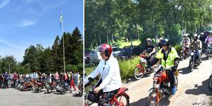 Veteranmopedrallyt i Lohärad har blivit en folkfest för hela familjen.