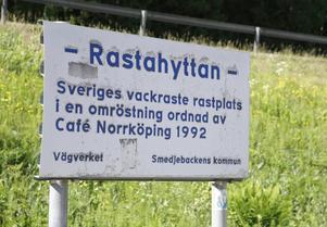 För 26 år sedan fick Rastahyttan den finaste utnämningen en rastplats kan få.