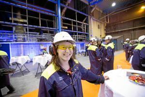 Chelsie Dickson spelade förut Lina i TV-serien Svensson Svensson. Numera är hon enhetschef på Ovako Steel i Hofors.