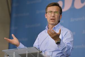 Ulf Kristerssons parti har under de senaste åren slitit med sin identitet. Foto: Anders Wiklund / TT