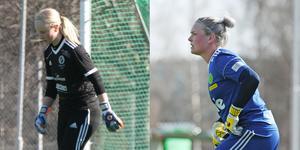 Amanda Andersson och Linnea Lif Jonsson