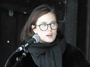 Hanna Vangen Engström är nyvald bland  S-ledamöterna i fullmäktige.