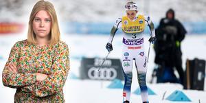 Camilla Westin har plockat ut fem punkter från dagens sprinttävlingar, där Stina Nilsson blev tvåa. Bilden är ett montage.