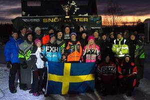 De svenska åkarna som bärgade nationssegern i de nordiska mästerskapen.