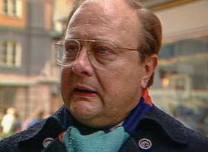 Stig Engström som enligt palmeutredningen mördade statsminister Olof Palme 1986. Den i media så kallade