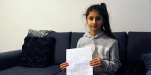 Aishah Shirzai bor i Avesta med sin mamma, pappa och lillasyster.