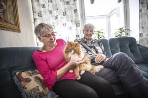 Inga-Lill och hennes man Sven-Olov är de som bott längst i hyresrättsföreningen HSB i Ljusdal.