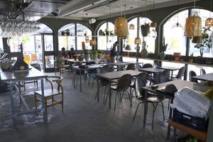 Hela restaurangen har byggts om inför öppningen på fredag.